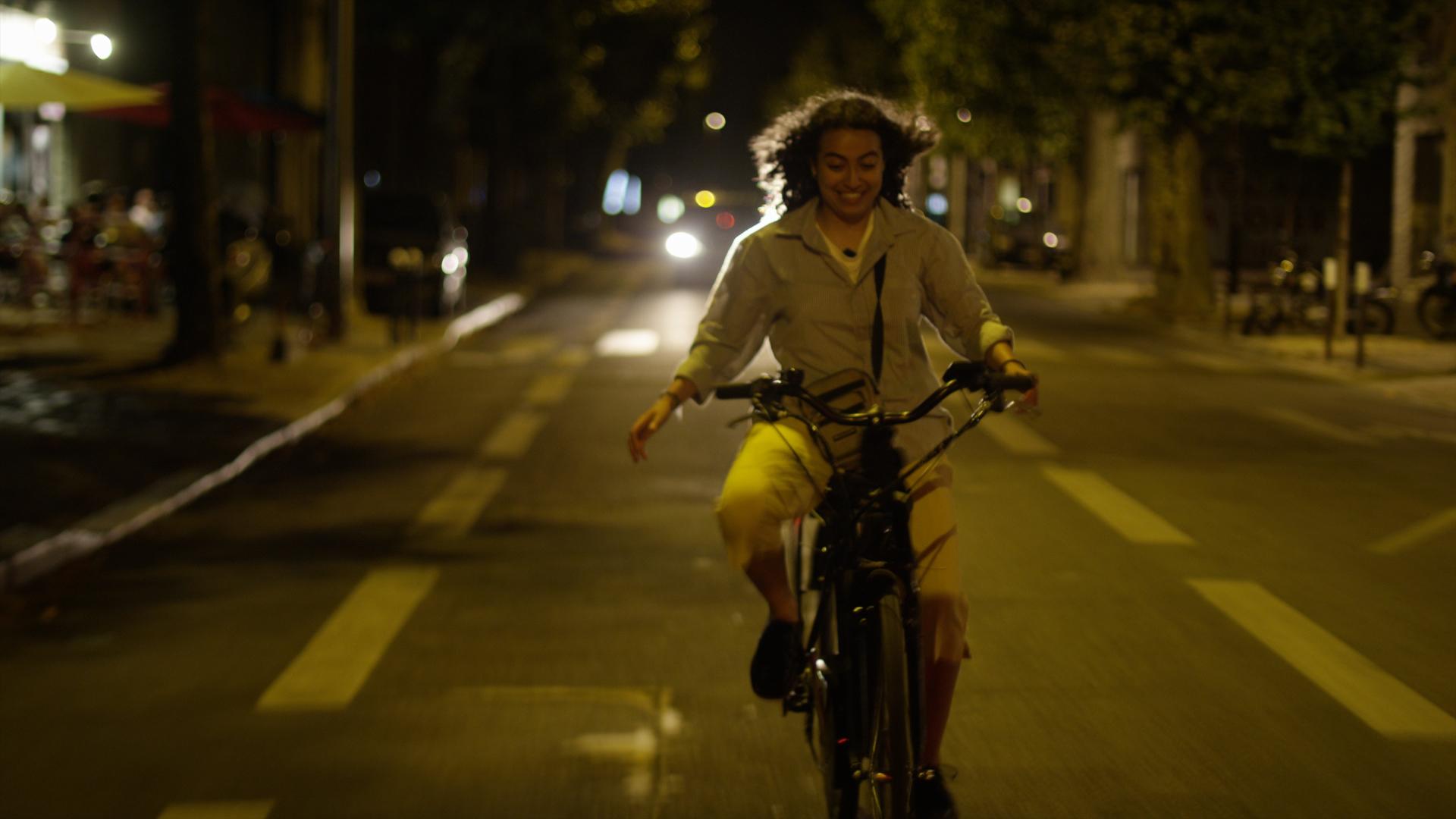 Vélo Sahra nuit